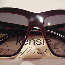 Kensie Be Noticed Bu 60/15 Sunglasses Eyeglass Frame New Photo