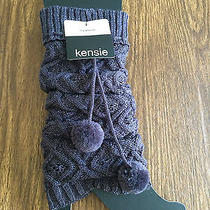 Kensie Cable Knit Thigh High Leg Warmers Photo