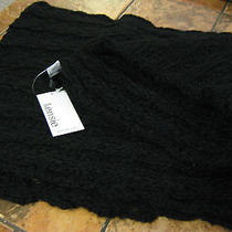 Kensie--Cowl / Infinity Scarf--100% Acrylic--Black--New W/tags Photo