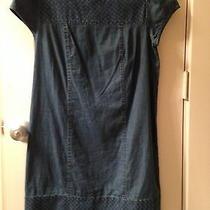 Kensie Denim Dress Size Medium Photo