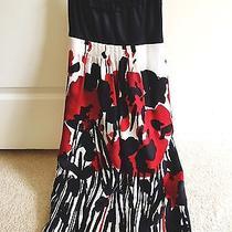 Kensie Dress Black & Red Dress Vacation Dress Kensie Flower Dress Photo