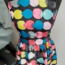 Kensie Dress Black With Coloured Circles Size Xs A107 Photo