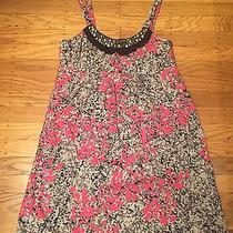 Kensie Fun Casual Dress Size Small - Black With Hot Pink Photo