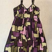 Kensie Girl Silk Stained-Glass Party Dress Xs S Photo
