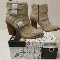 Kensie Hamlin Heeled Ankle Bootie Boots Winter White Ks134102 Size 7.5 Photo