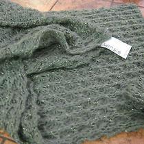 Kensie-Infinity Scarf--94% Acrylic With Lurex-Green--New W/tags Photo
