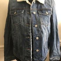 Kensie Jeans Size M Womens Denim Sherpa Jacket  Photo