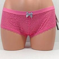 Kensie Lace Hipster Panty Women's Size Small Rosette Nwt 12 Photo