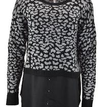 Kensie Long-Sleeve Layered-Look Sweater Size M Photo