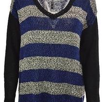 Kensie Mixed Tape Yarn Sweater Size L Photo