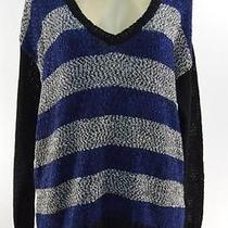 Kensie Mixed Tape Yarn Sweater Size L Msrp 89 Movaz 615 Photo