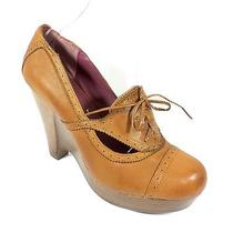 Kensie New in Box  Feist Womens Size 10 Cognac Leather Wedge Sandal Shoes Photo