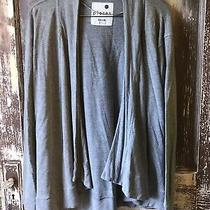 Kensie Pieces Womens Long Sleeve Gray Knit Cardigan From Nordstrom Size S Photo