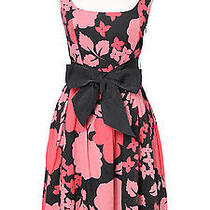 Kensie Pink Floral Cotton Dress Photo