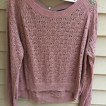 Kensie Pink Knit Sweater Photo