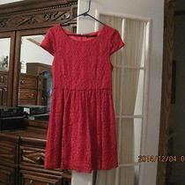 Kensie Red Dress Size 10 Ladies Photo