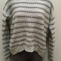 Kensie Striped Knit Sweater Photo