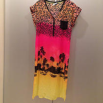 Kensie Sunset Beach Cover Up Sz. M Nwot Photo