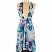 Kensie Women Blue Casual Dress M Photo