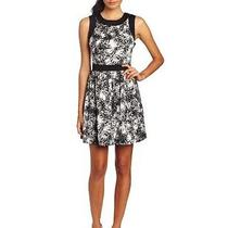 Kensie Women's Modern Etching Dress Small (Nwt) Photo