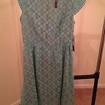 Kensie Women's Size Medium Lace Dress Photo