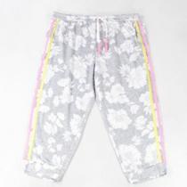 Kensie Women's Sleepwear Gray Size 1x Plus Floral Print Lounge Pants 52 586 Photo