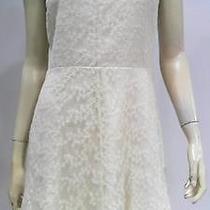 Kensie Womens 8 Lace High Waist Baby Doll Dress Knee-Length Dressy Chop 46fpz1 Photo