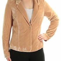 Kensie Womens Beige Blazer Jacket Size M Photo