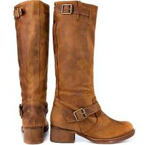 Kensie Womens Neverland Boot Size 8 Cognac Msrp 159.00 Photo
