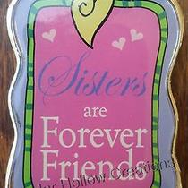 Keychain - Sisters Are Forever Friends - Acrylic and Metal - Free Shipping Photo