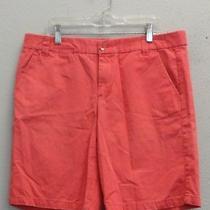 Khakis by Gap Womens Pink 100% Cotton Boyfriend Roll-Up Walking Shorts - 6 Photo