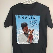 Khalid Roxy Tour 2018 Shirt Size Small Photo