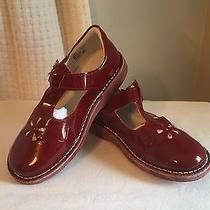 Kid Express Molly Cherry Red Patent Mary Janes Us Size 1 Eu (32)  org.65 Photo