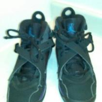 Kid's Jordan 8 Aqua Shoes Size 4 Photo