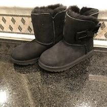 Kid's Ugg Daelynn Black Boots- Size 2- 1109630 Photo