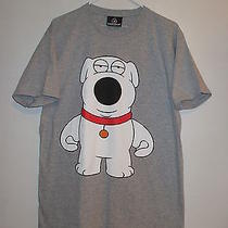 Kidrobot Brian Griffin Family Guy Cartoon Character T Shirt Size L Dry Martini  Photo