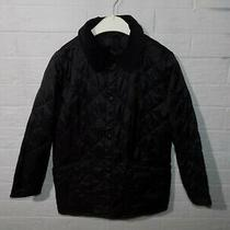 Kids Barbour Liddesdale Quilted Jacket Size 6-7 Years  S Photo