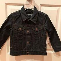 Kids Boys Gap Dark Blue Denim Jacket Size Xs New Nwt Photo