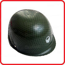 Kids Childrens Camouflage Army Military Commando Soldier Helmet-Party-Costume Photo