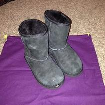 Kids Classic Uggs Black Color Size 11 Children Youth Photo