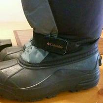Kids Columbia Winter Snow Boots With Liners. Size1 Photo