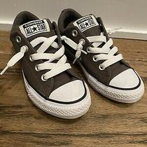 Kids Converse All Star Street Slip on Sneaker- Grey Size 13 Photo