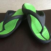 Kids Crocs Flip Flops Size G4 B2 Photo