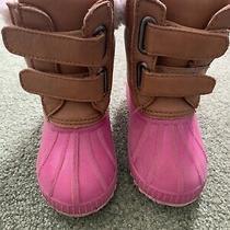 Kids Gap Pink Snow Boots 7t/8t  Photo