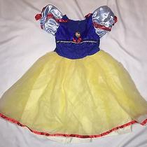 Kids Girls Fantasy Play Costume Disney Snow White Halloween Photo