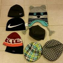 Kids Nike/vans/baby Gap Beanie Hats Lot of 8 Photo