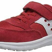 Kids Saucony Girls Baby Jazz Lite Low Top   Walking Shoes Red Size 7.0 Xh Photo