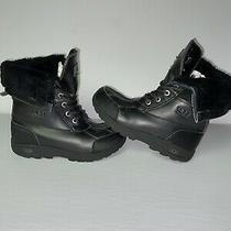 Kids Size 1 Worchester Ugg 1098890k Butte Ii Cwr Cold Weather Leather Boots Big Photo