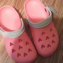 Kids Size 6/7 Mickey Crocs With Tags Photo