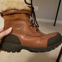 Kids Sz 5 Ugg Butte Ii Worchester Leather Winter Snow Boots Photo
